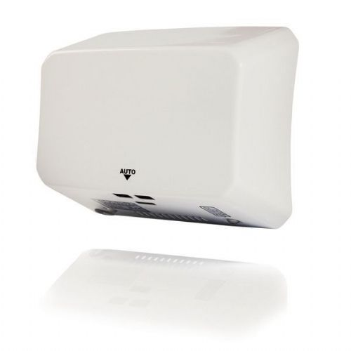 Hyco JETS10W Jetstream Slimline 1KW White Metal Automatic Hand Dryer